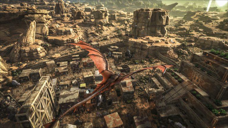 Ark Division France - Ark Survival Evolved Scorched Earth map carte