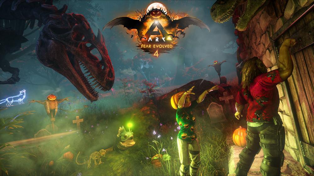 ARK Survival Fear Evolved 4 Halloween ARK division France