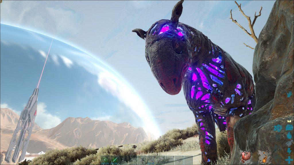 Ark-Extinction-corrupted-dinosaur
