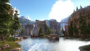 Ark division map Ragnarok 1