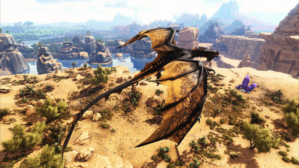 DLC Crystal Isles screenshot official 2 Ark division France