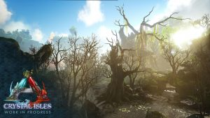 DLC Crystal Isles screenshot official Ark division France