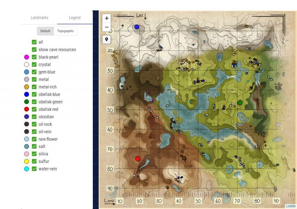 Map Valguero 2 ARK Division France