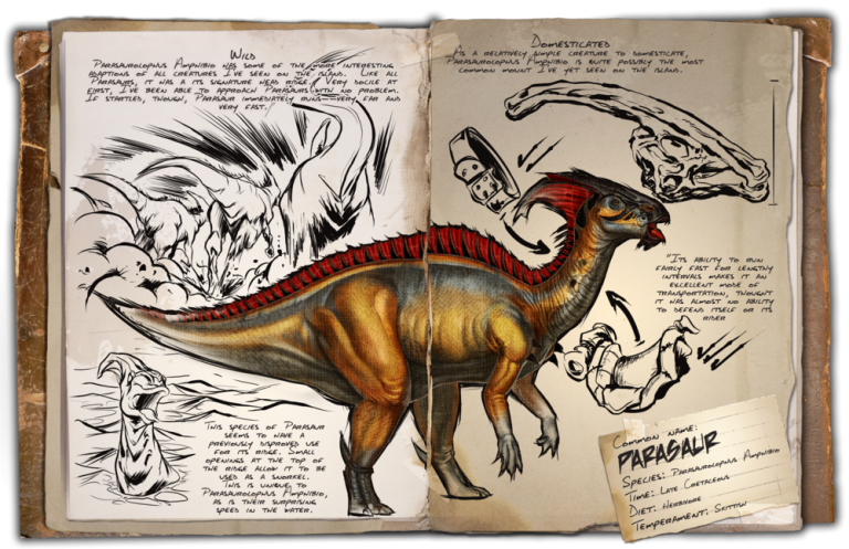 Parasaure ark france division dino dossier