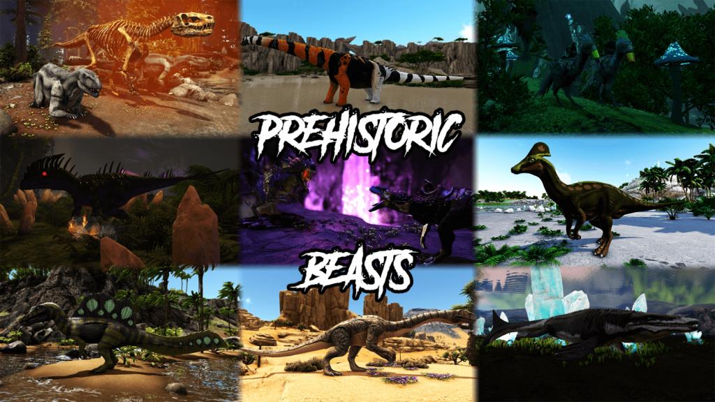 ark survival mod prehistoric beasts ark division france