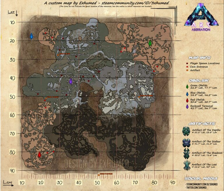 map aberration ARK Division France