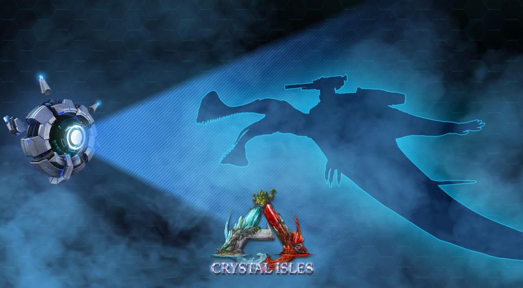 nouveau dino crystal Isles Ark division France