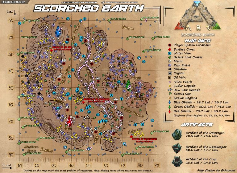 scorched earth map ARK Division France