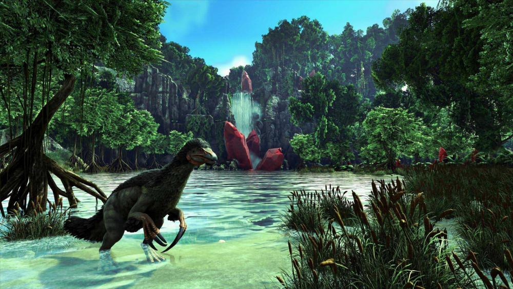 sortie crystal isles console - ark division
